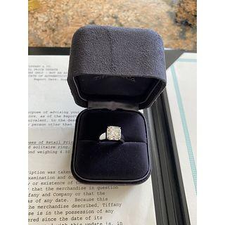 Important Tiffany & Co Diamond and Platinum Ring