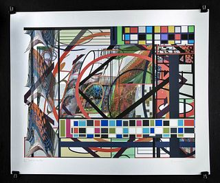 """S. McCallum Digital Color Print - """"Out of the Box"""" 2007"""