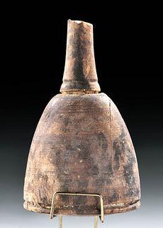 Egyptian New Kingdom Carved Wood Mallet (Votive)