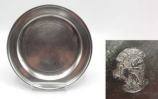 Pewter Plate by Richard Austin