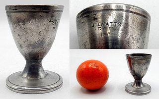 Pewter Spirit Cup for J.J. Watt