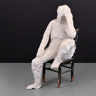 Life-Size George Segal Figural Sculpture