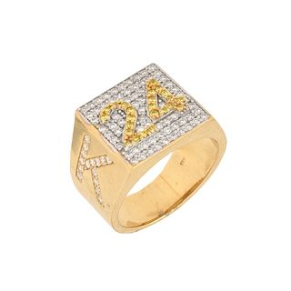 """Kobi Bryant 24"" Diamond and 18K Ring"
