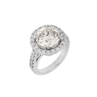 4.05 ct Diamond and 14K Ring