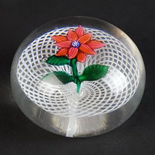 Antique Clichy Art Glass Paperweight