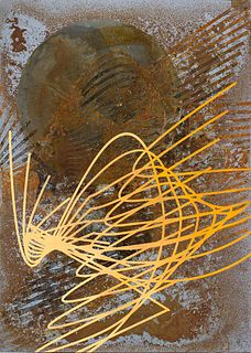 RICCARDO CORN79 LANFRANCO<br>(Torino, 1979)<br>Oxidation and etching on iron 04, 2018
