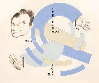 LEONARDO CRUDI<br>(Roma, 1988)<br>Mario Schifano, 2019
