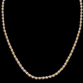 Chanel 18K and Pearl Necklace