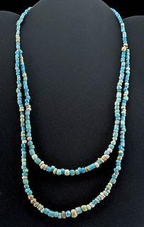 Romano-Egyptian Glass Bead Necklace