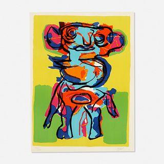 Karel Appel, Untitled