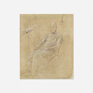 Adam Cvijanovic, Untitled (Chuck Close portrait)