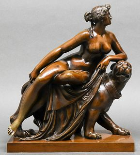 Ariadne on the Panther Bronze After Von Dannecker