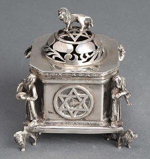 Judaica Russian Silver Spice Box / Besamim