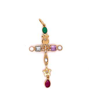 TOUS Multicolor Cross