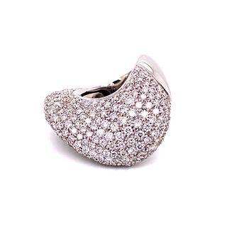 18k Modern Diamond RingÊ