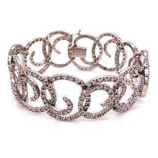 18k Diamond BraceletÊ