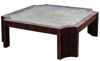 MCM Glass Coffee Table