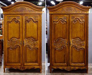 Hekman Rustic Wood Armoires