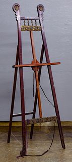 Victorian Wood Easel