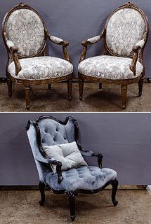 Marge Carson Arm Chairs