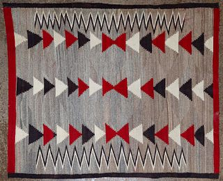 Native American Navajo Style Wool Tapestry