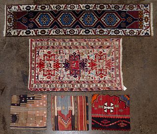 Turkish Rug and Pillow Cover Assortment