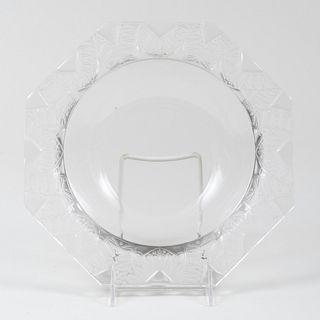 Lalique Glass Bowl