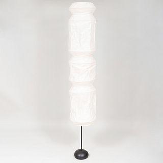 Isamu Noguchi Paper and Metal Light Sculpture