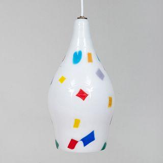 Dino Martens Venini Glass Pendant Light
