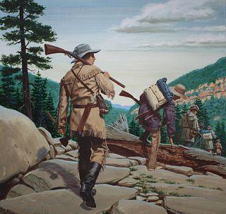 "Ed Vebell (1921 - 2018) ""Daniel Boone"""