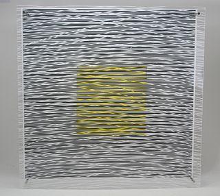 Jesus Soto (1923 - 2005) Cuadrado y Curvas Virtual