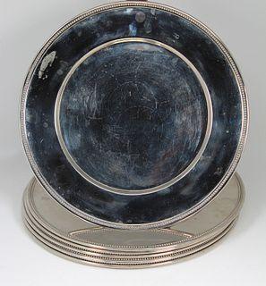 (6) Christofle, Malmaison Silver-Plated Dishes