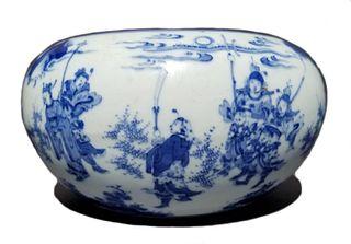 Important Chinese Blue & White Porcelain Bowl
