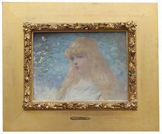 """William Lippincott (NY, 1849 - 1920) """"An Idyl"""""""