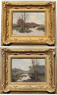 (2) Eugene Galien-Laloue (1854 - 1941) Paintings