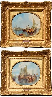 (2) Clarkson Stanfield (1793-1867) Venice Ptgs