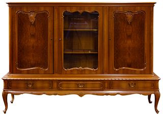 Provincial Style Maple Hutch on Stand