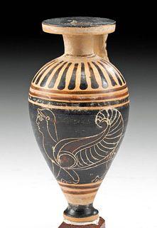Fine / Rare Corinthian Pottery Aryballos