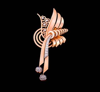 ART-DECO BROOCH