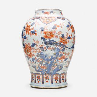 Chinese Export, Imari ginger jar