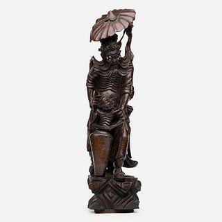 Chinese, figure of Zhong Kui