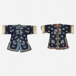 Chinese, ladies' informal jackets, set of two