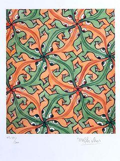 M.C.Escher (Dutch 1898-1972)