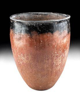 Very Fine Egyptian Pre-Dynastic Naqada Blacktop Vase