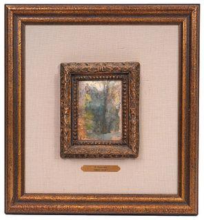 Edouard Vuillard 'The Undergrowth' O/C/P