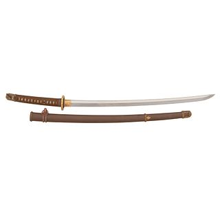 Shinto Japanese Samurai Sword (Katana) in Shin-Gunto Mounts