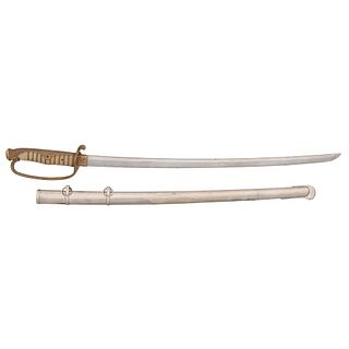 Japanese Samurai Sword (Katana) in Kyu-Gunto Mounts Signed Tsuguhiro
