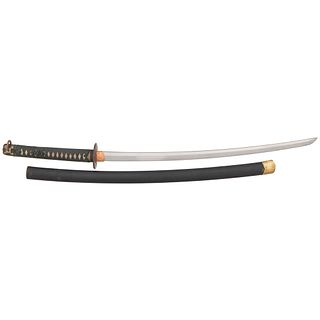 Japanese Samurai Sword (Katana) Signed Kaneyoshi