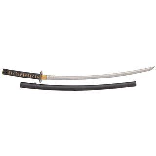 A Good Japanese Samurai Sword (Katana) Signed Bishu Osfaune Sukemitsu