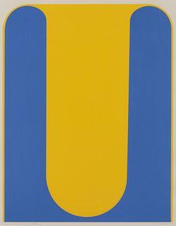 Takesada Matsutani (Japanese, b. 1937) Yellow Propagation, 1970